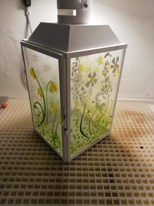 Kreativt glasdesign